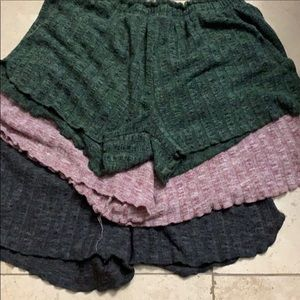 AEROPOSTALE lot of 3 lounge shorts size SMALL